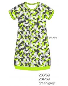ночная рубашка дет. к/р. KN284